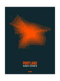 Portland Radiant Map 3 Posters by  NaxArt