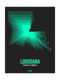 Louisiana Radiant Map 6 Posters by  NaxArt