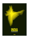 India Radiant Map 3 Posters by  NaxArt