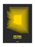 Arizona Radiant Map 6 Posters by  NaxArt