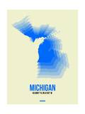 Michigan Radiant Map 1 Prints by  NaxArt