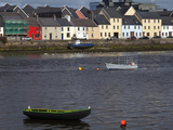 Currach in the River Corrib by the Long Walk,Galway City, Ireland Photographic Print by Green Light Collection