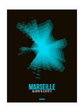 Marseille Radiant Map 2 Posters by  NaxArt