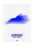 Kentucky Radiant Map 2 Poster by  NaxArt