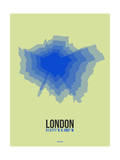 London Radiant Map 4 Prints by  NaxArt