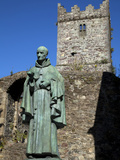 Sculpture of Luke Wadding, Theologian And Historian, Waterford City, Ireland Photographic Print by Green Light Collection
