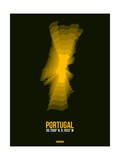 Portugal Radiant Map 3 Prints by  NaxArt