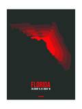 Florida Radiant Map 5 Poster by  NaxArt
