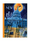 Haunted House - The New Yorker Cover, October 21, 2013 Regular Giclee Print by Mark Ulriksen