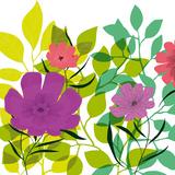 Flower Applique I Giclee Print by Laure Girardin-Vissian