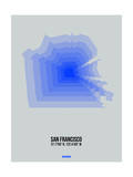 San Francisco Radiant Map 3 Prints by  NaxArt