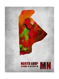 North Loop Minnesota Prints by  NaxArt