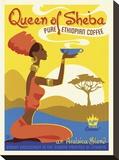 Queen of Sheba Lærredstryk på blindramme af Anderson Design Group
