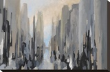 Midtown Stretched Canvas Print by Gregory Lang