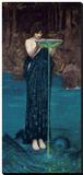 Circe Invidiosa, 1892 Stretched Canvas Print by John William Waterhouse