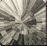 Silver Swirl Reproduction transférée sur toile par Mali Nave
