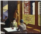 Chop Suey, 1929 Leinwand von Edward Hopper
