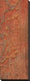 Elements (Orange) Stretched Canvas Print by J. McKenzie
