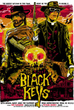 Black Keys Biggest Outlaws Concert Flyer Music Poster Posters
