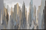 Midtown Skyline Stretched Canvas Print by Gregory Lang