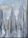 Midtown Towers Stretched Canvas Print by Gregory Lang