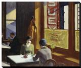Chop Suey, 1929 Reproduction sur toile tendue par Edward Hopper