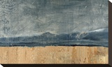 Mountainscape Stretched Canvas Print by J. McKenzie