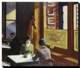 Chop Suey, 1929 Stretched Canvas Print by Edward Hopper