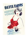MARKED WOMAN, Bette Davis, 1937 Prints
