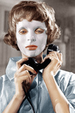 EYES WITHOUT A FACE, (aka LES YEUX SANS VISAGE), Edith Scob, 1960 Photo