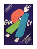 CHARLY, Polish poster, 1968 Prints