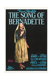 THE SONG OF BERNADETTE Posters