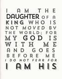 I Am His Sérigraphie par Kyle & Courtney Harmon