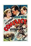 CONFLICT, Jean Rogers, John Wayne, Tommy Bupp, 1936 Print