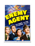 ENEMY AGENT, from left: Helen Vinson, Richard Cromwell, Marjorie Reynolds, Robert Armstrong, 1940 Art