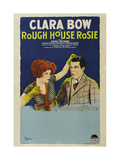 ROUGH HOUSE ROSIE, from left: Clara Bow, Reed Howes, 1927. Print