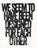 Designed Serigrafie von Kyle & Courtney Harmon