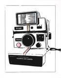 Polaroid Watercolor Sérigraphie par Kyle & Courtney Harmon