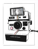 Polaroid Watercolor Serigrafie von Kyle & Courtney Harmon