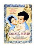 CHILDREN OF PARADISE, (aka LES ENFANTS DU PARADIS), Maria Casares, Jean-Louis Barrault, 1945 Poster