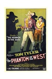 PHANTOM OF THE WEST, Tom Tyler, 1931, 'Chapter 3: The Horror In the Dark' Prints