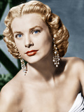 DIAL M FOR MURDER, Grace Kelly, portrait by Bert Six, 1954 Poster