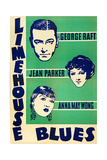LIMEHOUSE BLUES, US poster, George Raft, Jean Parker, Anna May Wong, 1934 Posters