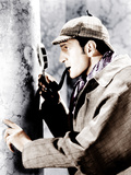 THE ADVENTURES OF SHERLOCK HOLMES, Basil Rathbone, 1939 Photo