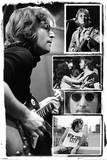 John Lennon Collage - Bob Gruen Plakater