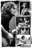 John Lennon Collage - Bob Gruen Prints