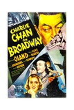 CHARLIE CHAN ON BROADWAY Posters