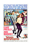 VIVA LAS VEGAS, center, left to right: Elvis Presley, Ann-Margret, 1964. Prints