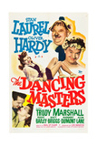 THE DANCING MASTERS Poster