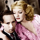 OF HUMAN BONDAGE, from left: Leslie Howard, Bette Davis, 1934 Photo